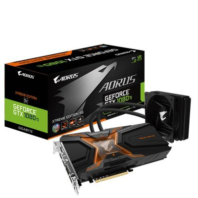 Видеокарта ПК Gigabyte GeForce GTX 1080 Ti Aorus Waterforce Xtreme Edition 11GB (GV-N108TAORUSX W-11GD) материнская плата пк gigabyte ga h81m s2pv rev 1 0 ga h81m s2pv