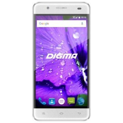 все цены на Смартфон Digma LINX A450 3G Белый (DGS-A450WT-428988) онлайн