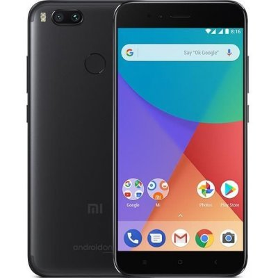 Смартфон Xiaomi MI A1 64GB BLACK (Черный) (MIA1BL64GB) телефон xiaomi mi5s plus 64gb золотой