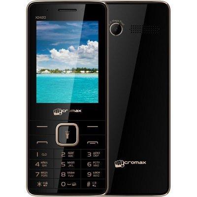 Мобильный телефон Micromax X2420 (X2420 Black Champagne) сотовый телефон micromax q409 champagne