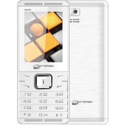 Мобильный телефон Micromax X649 32Мб Белый (X649 White) мобильный телефон micromax x649 white