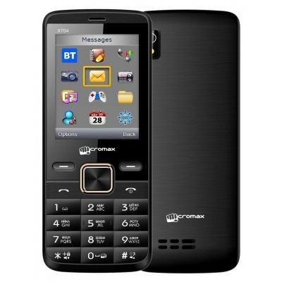 Мобильный телефон Micromax X704 Черный (X704 Black) мобильный телефон micromax x649 white