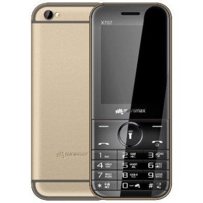 Мобильный телефон Micromax X707 32 Мб Шампань (X707 Champagne) мобильный телефон fly fs458 champagne