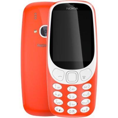 Мобильный телефон Nokia 3310  DS (2017) Warm Red (Оранжевый) (A00028102) nokia 108 ds red