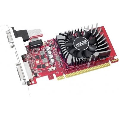 Видеокарта ПК ASUS PCI-E AMD Radeon R7 240 (R7240-O4GD5-L) видеокарта asus geforce gtx 1060 1620mhz pci e 3 0 6144mb 8208mhz 192 bit dvi hdmi hdcp rog strix gtx1060 o6g gaming
