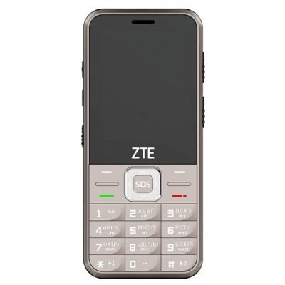 Мобильный телефон ZTE N1 Gold (золотистый) (ZTE N1 Gold Мобильный телефон) skinbox флип кейс zte blade x5