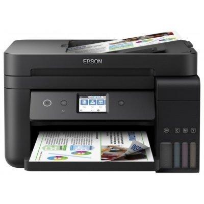 Цветной струйный МФУ Epson L6190 (C11CG19404) принтер epson l1300 струйный цвет черный [c11cd81402 ]