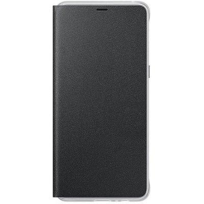 Чехол для смартфона Samsung Galaxy A8+ Neon Flip Cover черный (EF-FA730PBEGRU) (EF-FA730PBEGRU) чехол флип кейс samsung neon flip cover для samsung galaxy a3 2017 синий [ef fa320plegru]