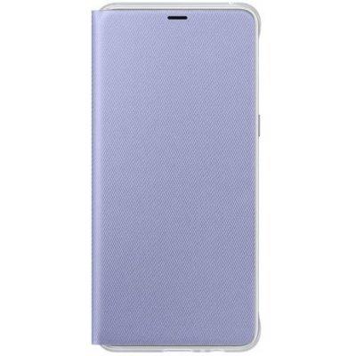 Чехол для смартфона Samsung Galaxy A8+ Neon Flip Cover фиолетовый (EF-FA730PVEGRU) (EF-FA730PVEGRU) чехол флип кейс samsung neon flip cover для samsung galaxy a3 2017 синий [ef fa320plegru]