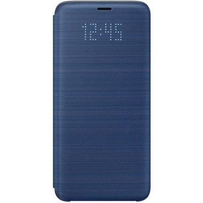 Чехол для смартфона Samsung Galaxy S9 LED View Cover синий (EF-NG960PLEGRU) (EF-NG960PLEGRU) чехол samsung s view для galaxy s6 белый ef cg920pwegru