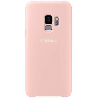 Чехол для смартфона Samsung Galaxy S9 Silicone Cover розовый (EF-PG960TPEGRU) (EF-PG960TPEGRU) клип кейс samsung silicone cover для galaxy s8 зеленый