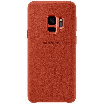 Чехол для смартфона Samsung Galaxy S9 Alcantara красный (EF-XG960AREGRU) (EF-XG960AREGRU) чехол для сотового телефона samsung galaxy note 8 alcantara blue ef xn950ajegru
