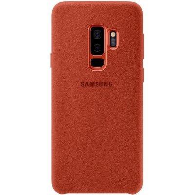 Чехол для смартфона Samsung Galaxy S9+ Alcantara красный (EF-XG965AREGRU) (EF-XG965AREGRU) чехол для сотового телефона samsung galaxy note 8 alcantara blue ef xn950ajegru