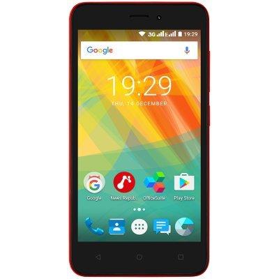 все цены на Смартфон Prestigio Wize G3 Red (Красный) (PSP3510DUORED) онлайн