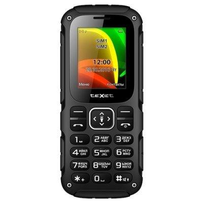 Мобильный телефон Texet TM-504R Black-Red (Черный/Красный) (TM-504R-BKR) texet тм 126 dual sim red black