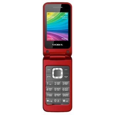 Мобильный телефон Texet TM-204 Red (Красный) (TM-204-RED) мобильный телефон texet tm 203 black red черный красный tm 203 bkr