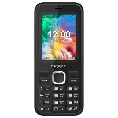 цена на Мобильный телефон Texet TM-403 Black (Черный) (TM-403-BLK)