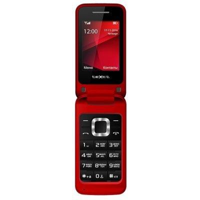 Мобильный телефон Texet TM-304 Red (Красный) (TM-304-RED) мобильный телефон texet tm 203 black red черный красный tm 203 bkr