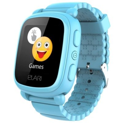 Умные часы Elari KidPhone 2 Blue (Голубой) (KP-2-BLUE) кардридер elari smartcable