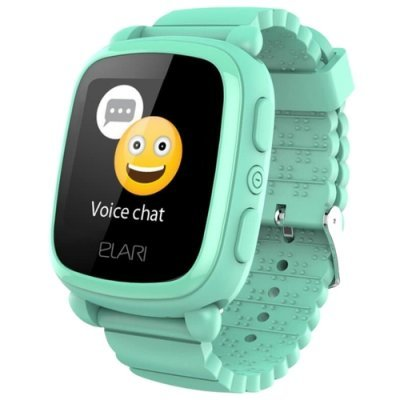 Умные часы Elari KidPhone 2 Green (Зеленые) (KP-2-GREEN) спиннер elari smartspin s2 6 лопастей золотистый