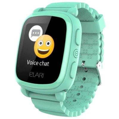 Умные часы Elari KidPhone 2 Green (Зеленые) (KP-2-GREEN) аксессуар чехол elari для elari cardphone и iphone 6 plus blue