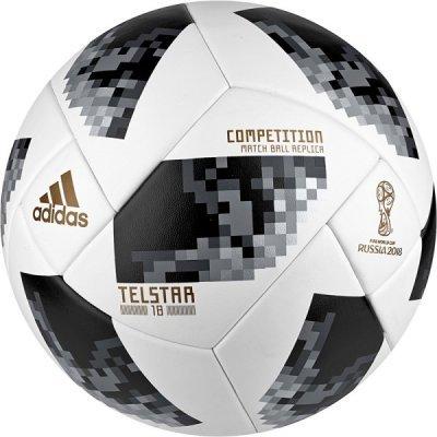 Мяч для футбола Adidas WC2018 Telstar Competition CE8085, р. 5 FIFA PRO (CE8085) боксерки мужские adidas box hog 2 цвет черный белый ba7928 размер 11 5 45