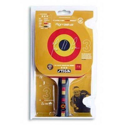 Ракетка для настольного тенниса Stiga AGGRESSIVE, 3 звезды (AGGRESSIVE) stiga ракетка для настольного тенниса stiga pure neon
