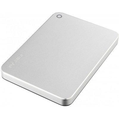 Внешний жесткий диск Toshiba 1TB HDTW210ES3AA серебристый (HDTW210ES3AA) внешний жесткий диск 3 5 usb3 1 6tb lacie d2 thunderbolt3 stfy6000400 серебристый