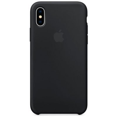Чехол для смартфона Apple Silicone Case для iPhone X Black (Черный) (MQT12ZM/A) чехол для смартфона apple iphone 6 plus silicone case зеленый mgxx2zm a