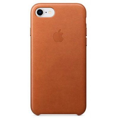 Чехол для смартфона Apple Leather Case для iPhone 8/7 Saddle Brown (Коричневый) (MQH72ZM/A) аксессуар чехол apple iphone 8 7 leather case cosmos blue mqhf2zm a
