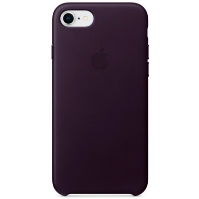 Чехол для смартфона Apple Leather Case для iPhone 8/7 Dark Aubergine (Баклажановый) (MQHD2ZM/A) аксессуар чехол apple iphone 8 7 leather case cosmos blue mqhf2zm a