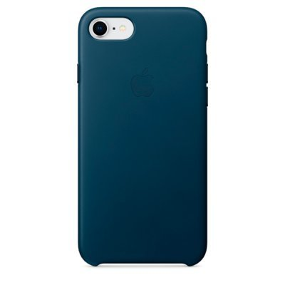 Чехол для смартфона Apple Leather Case для iPhone 8/7 Cosmos Blue (Синий) (MQHF2ZM/A) аксессуар чехол apple iphone 8 7 leather case cosmos blue mqhf2zm a
