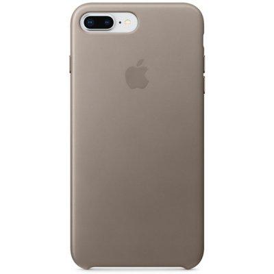 Чехол для смартфона Apple Leather Case для iPhone 8 Plus/7 Plus Taupe (Платиново-серый) (MQHJ2ZM/A) чехол для iphone 8 7 apple leather case mqha2zm a product red