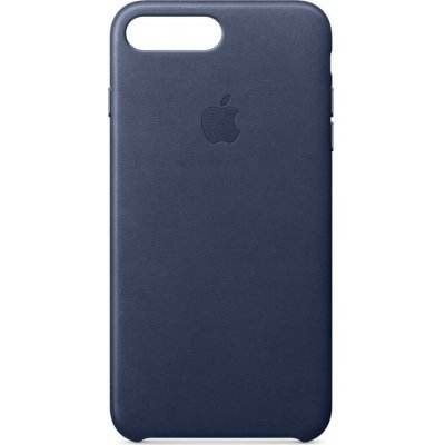 Чехол для смартфона Apple Leather Case для iPhone 8 Plus/7 Plus Midnight Blue (Темно-синий) (MQHL2ZM/A) чехол для iphone apple iphone 7 silicone case midnight blue mmwk2zm a