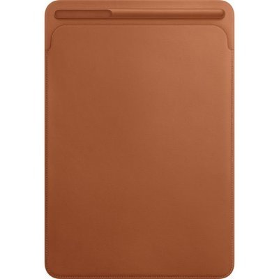 Чехол для планшета Apple Leather Sleeve для iPad Pro 10.5 Saddle Brown (Коричневый) (MPU12ZM/A) apple mnyw2zm a iphone se leather case saddle brown zml