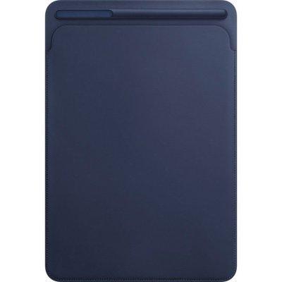 Чехол для планшета Apple Leather Sleeve для iPad Pro 10.5 Midnight Blue (Темно-синий) (MPU22ZM/A) аксессуар чехол apple iphone 7 leather case midnight blue mmy32zm a