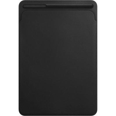 цена на Чехол для планшета Apple Leather Sleeve для iPad Pro 10.5 Black (Черный) (MPU62ZM/A)