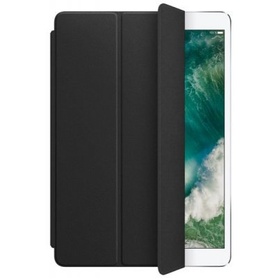 Чехол для планшета Apple Leather Smart Cover для iPad Pro 10.5 Black (Черный) (MPUD2ZM/A) apple smart cover mgtm2zm a black