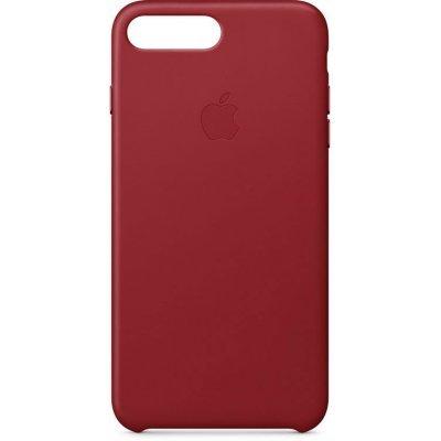 Чехол для смартфона Apple Leather Case для iPhone 8 Plus/7 Plus RED (Красный) (MQHN2ZM/A) чехол для смартфона apple для iphone 6s plus leather case red mkxg2zm a mkxg2zm a