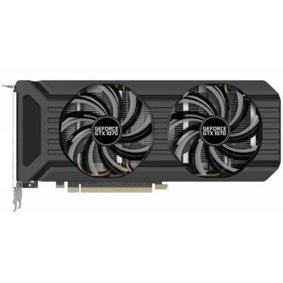 Видеокарта ПК Palit GeForce Mining GTX 1070 4GB (NEBP104117G2-1045D BULK) видеокарта 6144mb msi geforce gtx 1060 gaming x 6g pci e 192bit gddr5 dvi hdmi dp hdcp retail