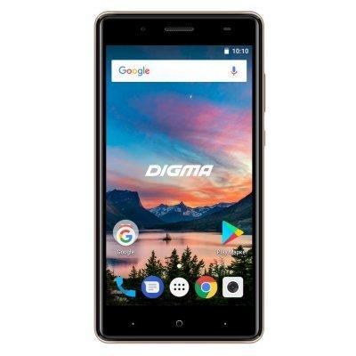 Смартфон Digma HIT Q500 3G 8Gb GOLD (золотистый) (HT5035PG gold) смартфон digma voxs501 white