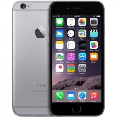 Смартфон Apple iPhone 6 32Gb MQ3D2RU/A Space Gray (Серый космос) (MQ3D2RU/A) умные часы apple watch series 3 38mm grey space with black sport band mqkv2ru a