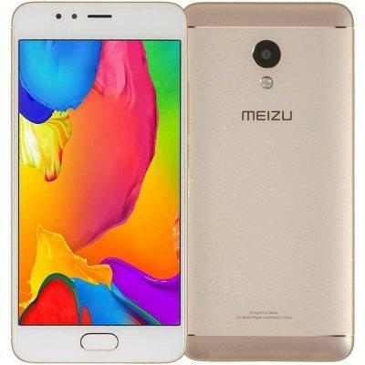 Смартфон Meizu M5S 32GB M612H Gold (Золотой) (M612H-32-G) смартфон meizu m3 note 32gb gold