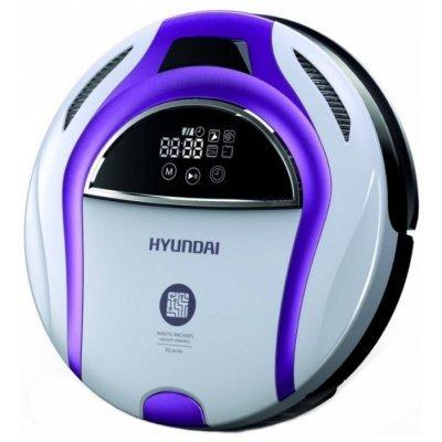 Пылесос Hyundai H-VCRQ70 14.4Вт белый/фиолетовый (H-VCRQ70) ручной пылесос handstick hyundai h vch01 700вт черный голубой