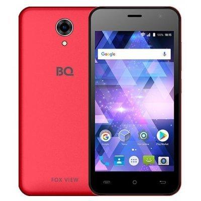 Смартфон BQ 4585 Fox View 8Gb Red (Красный) (BQS-4585-RED) смартфон bq bqs 3510 aspen mini yellow