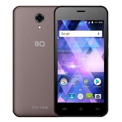 Смартфон BQ 4585 Fox View 8Gb Moka (Коричневый) (BQS-4585-MOKA) смартфон bq bqs 3510 aspen mini yellow