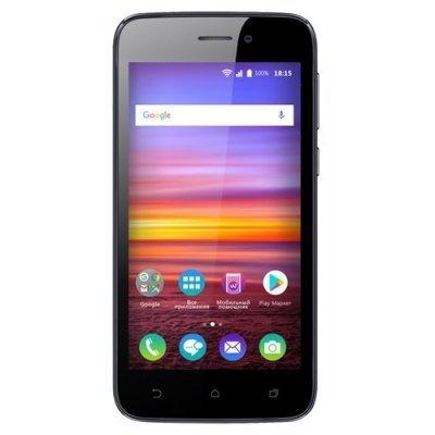 Смартфон BQ 4583 Fox 8Gb Power Black (Черный) ( BQS-4583-BLK) смартфон bq bqs 3510 aspen mini yellow