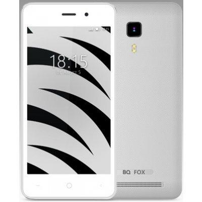 Смартфон BQ 4526 Fox Space 8Gb Silver (Серебристый) (BQS-4526-SLV) смартфон bq bqs 3510 aspen mini yellow