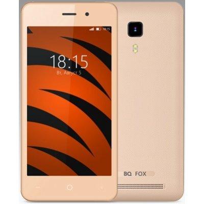 Смартфон BQ 4526 Fox Champagne Gold (Золотой) ( BQS-4583-GOLD) смартфон micromax q326 3g 4gb champagne