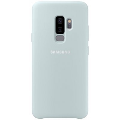 Чехол для смартфона Samsung Galaxy S9+ Silicone Cover Голубой (EF-PG965TLEGRU) (EF-PG965TLEGRU) чехол клип кейс samsung protective standing cover great для samsung galaxy note 8 темно синий [ef rn950cnegru]